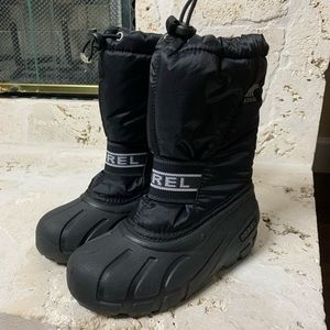 Sorel Youth Cub Snow Boots Size 1